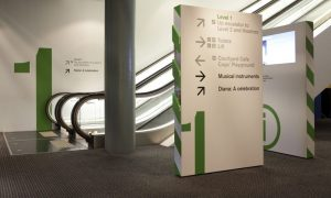 Wayfinding Vinyl Sign