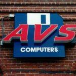 AVS Custom Cabinet Storefront Sign