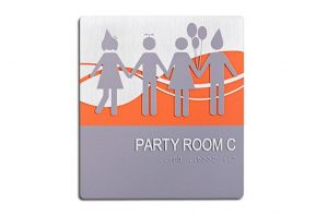 ADA Sign, Room Identification Sign