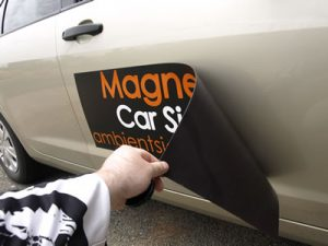 Easy to Apply Vehicle Magnet
