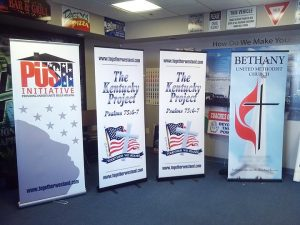 Retractable Banners for Trade Shows