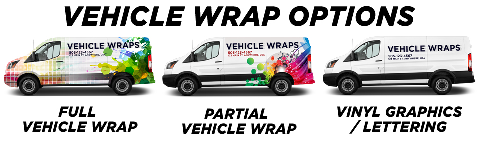 Charlotte Commercial Vehicle Wraps vehicle wrap options