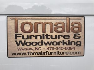 Tomala Custom RVG Reusable Sign