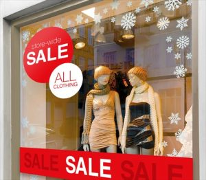 Belmont Window Signs & Graphics promotional sign 2 300x262