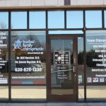 Custom Office Signs Copy of Chiropractic Office Window Decals 150x150