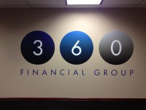 Custom Vinyl Wall Murals lobby sign 1 300x225