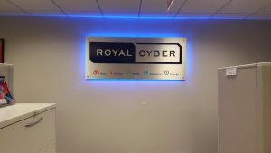 Charlotte Lighted Signs Royal Cyber Indoor Lobby Sign Backlit 300x169